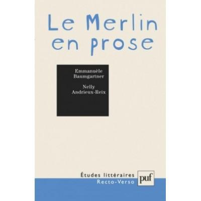 Le Merlin en prose Emmanuèle Baumgartner  Nelly Andrieux-Riex