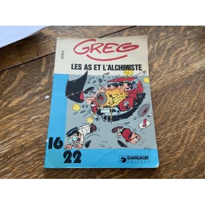 Greg - 16/22 - T04 Les As et l'alchimiste De Greg