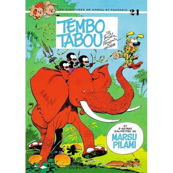 Spirou et Fantasio - 24 - Tembo tabou De Franquin & Al