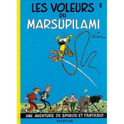 Spirou et Fantasio - 05 - Les Voleurs de marsupilami De Franquin & Al