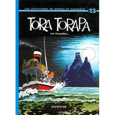 Spirou et Fantasio - 23 - Tora torapa De Fournier