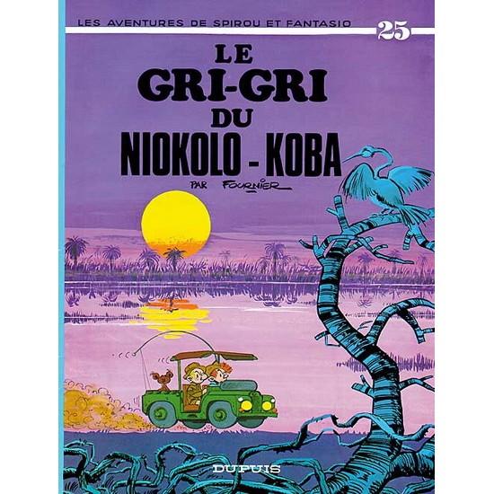 Spirou et Fantasio - 25 - Gri-Gri du Niokolo-Koba De Franquin & Al