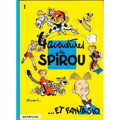 Spirou et Fantasio - 01 - 4 aventures de Spirou & Fantasio De Franquin