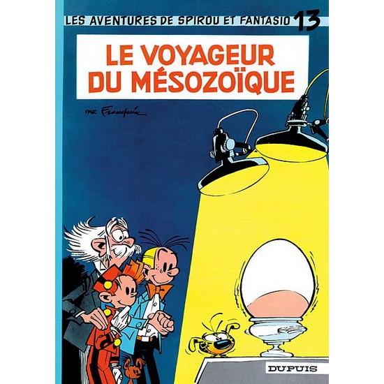Spirou et Fantasio - 13 - Le Voyageur du Mésozoique De Franquin & Al