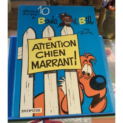 Album No 10 des gags de Boule et Bill -  Attention chien marrant De Roba