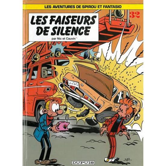 Spirou et Fantasio - 32 - Les Faiseurs de silence De Nic   Cauvin