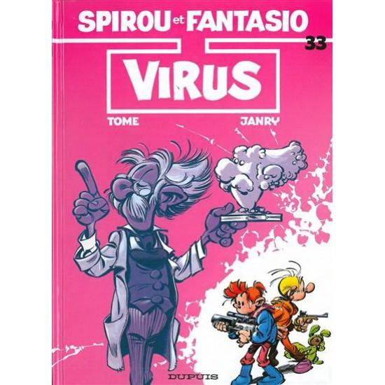 Spirou et Fantasio - 33 - Virus De Tome | Janry