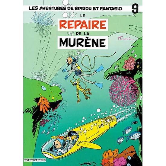 Spirou et Fantasio - 09 - Le Repaire de la murène De Franquin & Al