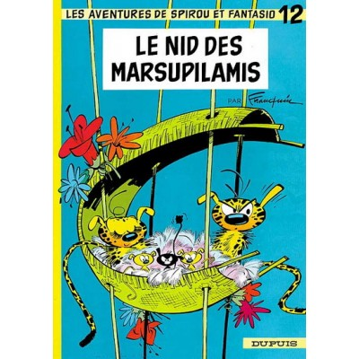 Spirou et Fantasio - 12 - Le Nid des Marsupilamis De Franquin & Al