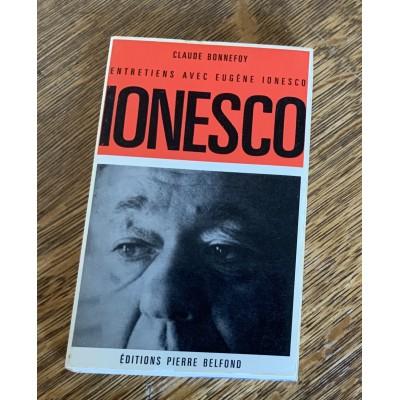 Entretiens avec Eugene Ionesco De Claude Bonnefoy