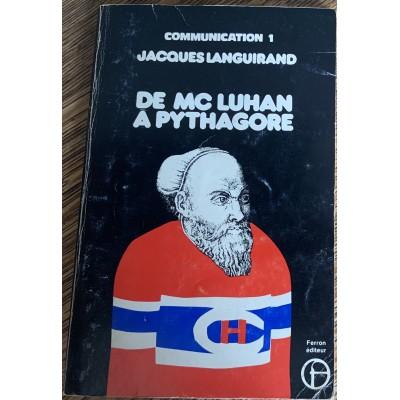 De Mc Luhan à Pythagore De Jacques Languirand