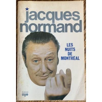 Les nuits de Montréal De Jacques Normand
