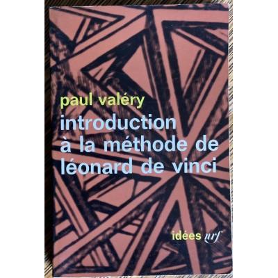 Introduction  à la méthode de Léonard de Vinci De Paul Valery