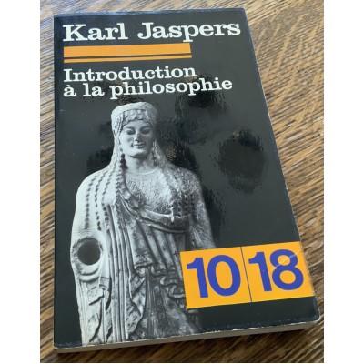 Introduction à la philosophie De Karl Jaspers