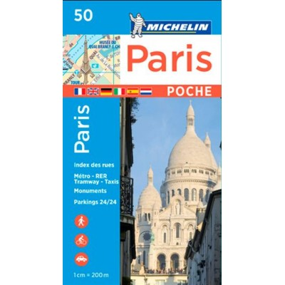 Paris poche N. éd. De Michelin