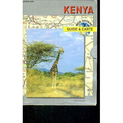 Kenya / collection bon voyage - guide et carte