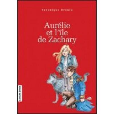 Aurélie et l'île de Zachary T.02 De Veronique Drouin-DÉDICACÉ