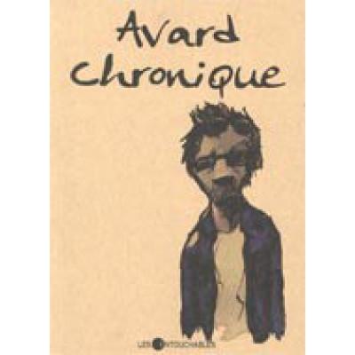 Avard chronique De Francois Avard