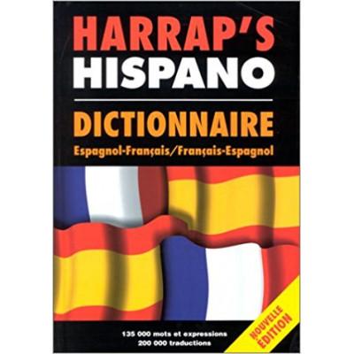 Hispano dictionnaire espagnol/français-français/espagnol De Jean-Paul Vidal
