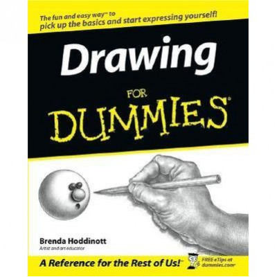 Drawing For Dummies  De Brenda Hoddinott
