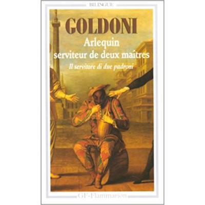 ARLEQUIN SERVITEUR DE DEUX MAITRES DE  CARLO GOLDONI