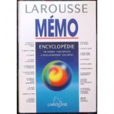 Larousse Mémo. Encyclopédie en 1 volume
