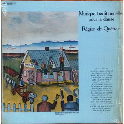 Musique traditionnelle pour la danse (Region de Quebec)