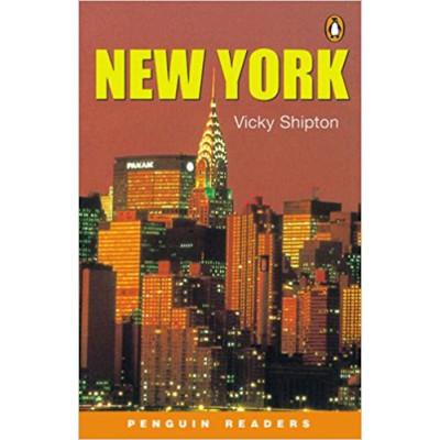 New york level 3/pré-intermed  Penguin Readers (English) de Shipton Vicky