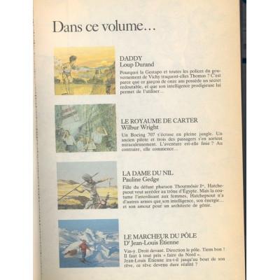 Daddy, Le Royaume De Carter, La Dame Du Nil, Le Marcheur Du Pôle De Sélection du livre condensé de 4 livres