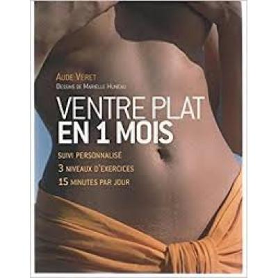 Ventre plat en 1 mois De Aude Veret