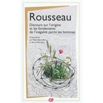 Discours sur l'origine et les fondements de l'inégalité parmi les hommes N. éd. De Jean-Jacques Rousseau